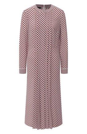 Женское шелковое платье ESCADA розового цвета, арт. 5033901 | Фото 1