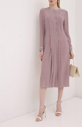 Женское шелковое платье ESCADA розового цвета, арт. 5033901 | Фото 2
