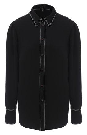 Женская рубашка ESCADA черного цвета, арт. 5033899 | Фото 1