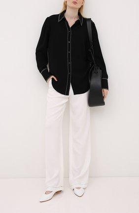 Женская рубашка ESCADA черного цвета, арт. 5033899 | Фото 2