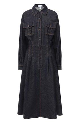 Женское джинсовое платье ESCADA SPORT темно-синего цвета, арт. 5033897 | Фото 1