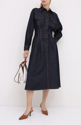 Женское джинсовое платье ESCADA SPORT темно-синего цвета, арт. 5033897 | Фото 2