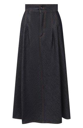 Женская джинсовая юбка ESCADA SPORT темно-синего цвета, арт. 5033896 | Фото 1