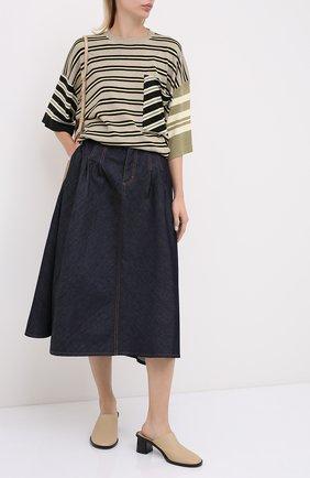 Женская джинсовая юбка ESCADA SPORT темно-синего цвета, арт. 5033896 | Фото 2