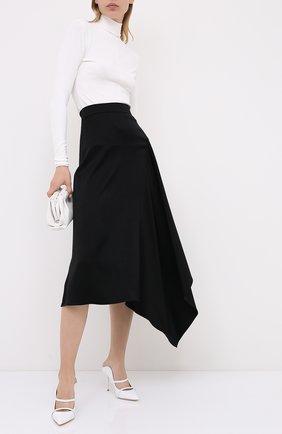 Женская юбка-миди ESCADA черного цвета, арт. 5033886 | Фото 2