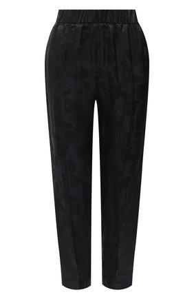 Женские брюки из вискозы ESCADA черного цвета, арт. 5033723 | Фото 1