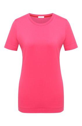 Женская хлопковая футболка ESCADA SPORT фуксия цвета, арт. 5033716 | Фото 1