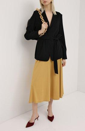 Женский жакет ESCADA черного цвета, арт. 5033711 | Фото 2