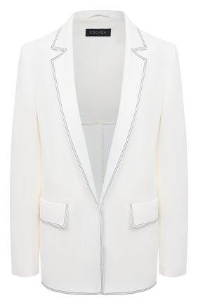 Женский жакет ESCADA белого цвета, арт. 5033653 | Фото 1