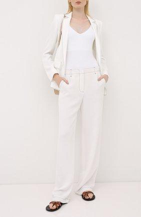 Женские брюки ESCADA белого цвета, арт. 5033650   Фото 2