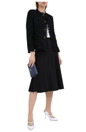 Женский хлопковый жакет ESCADA черного цвета, арт. 5033633 | Фото 2