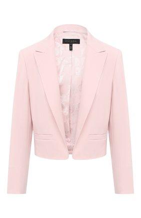 Женский жакет ESCADA светло-розового цвета, арт. 5033624 | Фото 1