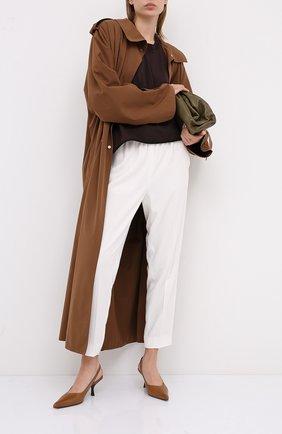 Женские брюки ESCADA белого цвета, арт. 5033544 | Фото 2