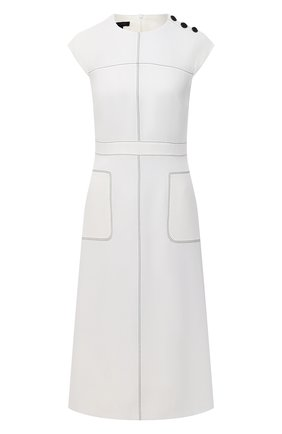 Женское платье ESCADA белого цвета, арт. 5033530 | Фото 1