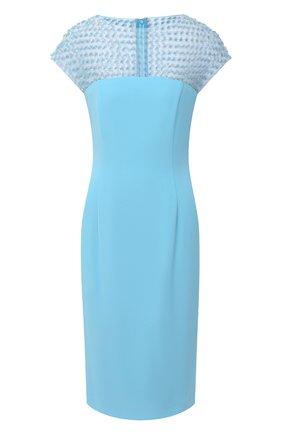 Женское платье ESCADA голубого цвета, арт. 5033527 | Фото 1