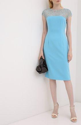 Женское платье ESCADA голубого цвета, арт. 5033527 | Фото 2