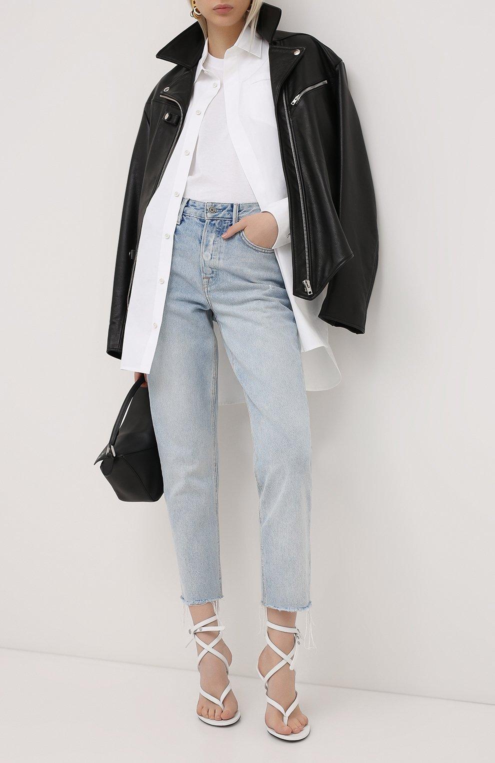 Женские джинсы GRLFRND голубого цвета, арт. GF40058691304 | Фото 2