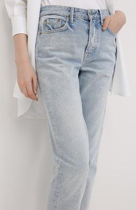 Женские джинсы GRLFRND голубого цвета, арт. GF40058691304 | Фото 3
