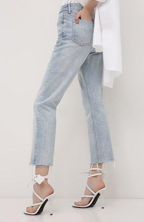 Женские джинсы GRLFRND голубого цвета, арт. GF40058691304 | Фото 4