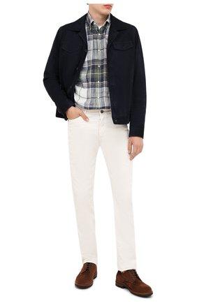 Мужская замшевая куртка ANDREA CAMPAGNA темно-синего цвета, арт. A9T903/5319 | Фото 2