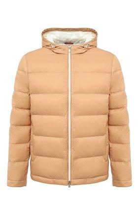 Мужская пуховая куртка BRUNELLO CUCINELLI бежевого цвета, арт. MR4051744 | Фото 1