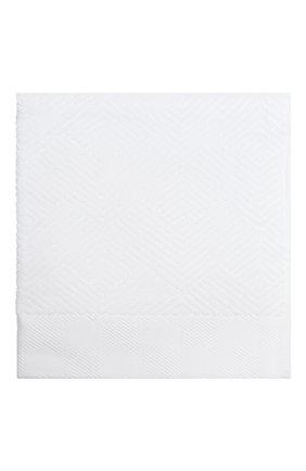 Мужского хлопковое полотенце FRETTE белого цвета, арт. FR6243 D0112 050Z | Фото 1