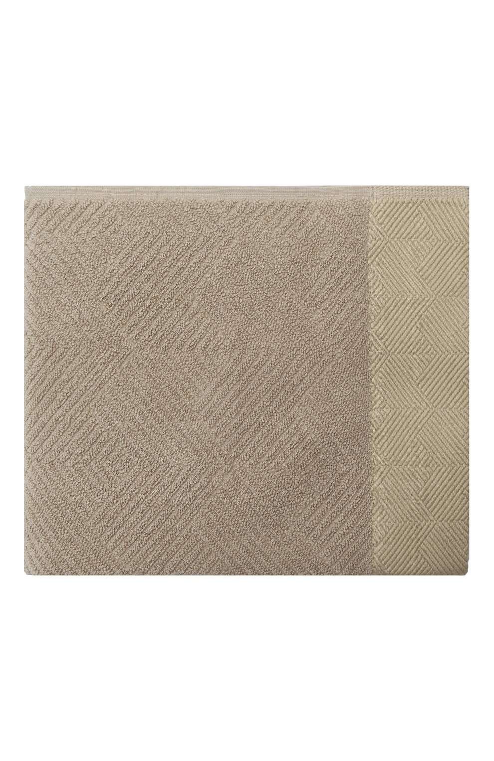 Мужского хлопковое полотенце FRETTE хаки цвета, арт. FR6243 D0112 050Z | Фото 1