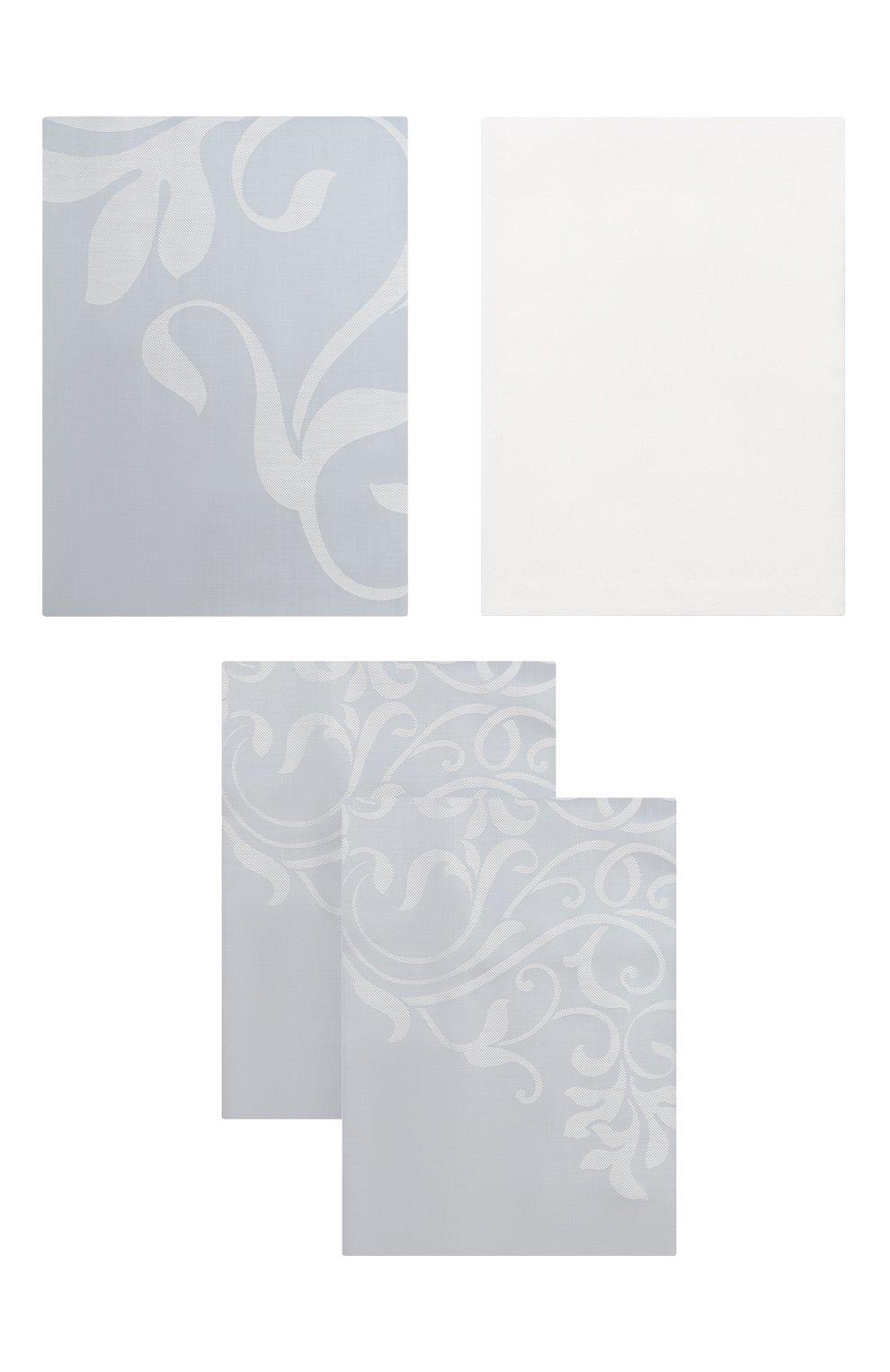 Мужского комплект постельного белья FRETTE светло-голубого цвета, арт. FR6594 E3478 240B   Фото 1