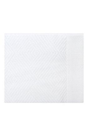 Мужского хлопковое полотенце FRETTE белого цвета, арт. FR6243 D0100 040C | Фото 1