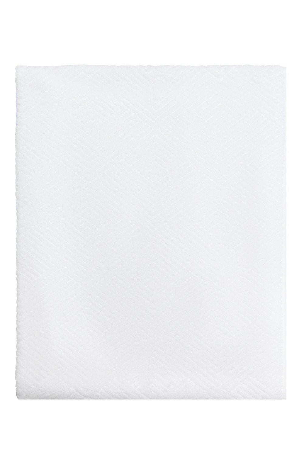 Мужского хлопковое полотенце FRETTE белого цвета, арт. FR6243 D0200 060F   Фото 1