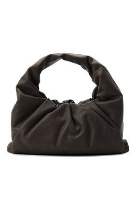 Женская сумка shoulder pouch BOTTEGA VENETA темно-коричневого цвета, арт. 610524/VCP40 | Фото 1