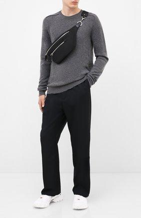 Мужская текстильная поясная сумка valentino garavani  VALENTINO черного цвета, арт. UY2B0664/RPY | Фото 2
