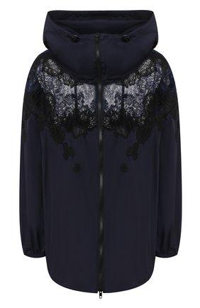 Женская куртка VALENTINO темно-синего цвета, арт. UB3CJ1M04NW | Фото 1