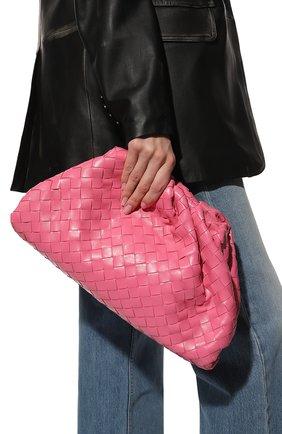 Женский клатч pouch BOTTEGA VENETA розового цвета, арт. 576175/VCPP0 | Фото 2