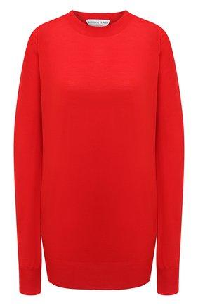 Женский пуловер BOTTEGA VENETA красного цвета, арт. 633132/VKWI0 | Фото 1