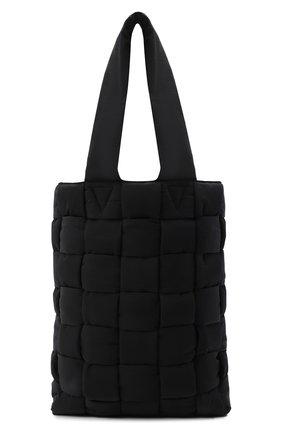 Мужская текстильная сумка-тоут padded BOTTEGA VENETA черного цвета, арт. 628958/VB081 | Фото 1