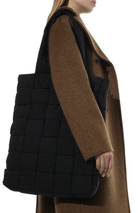 Мужская текстильная сумка-тоут padded BOTTEGA VENETA черного цвета, арт. 628958/VB081 | Фото 2