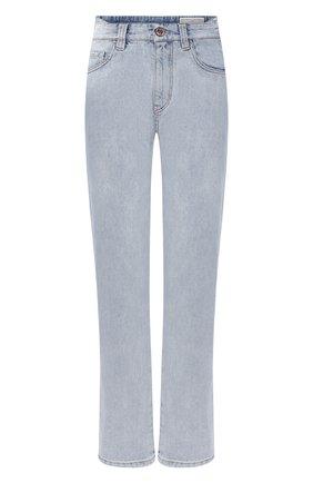 Женские джинсы BRUNELLO CUCINELLI голубого цвета, арт. MP095P5595 | Фото 1