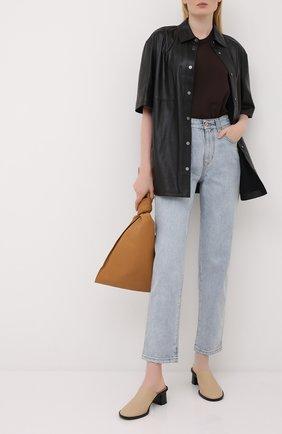 Женские джинсы BRUNELLO CUCINELLI голубого цвета, арт. MP095P5595 | Фото 2