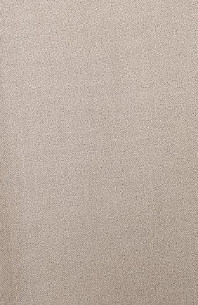 Мужские шарф из смеси кашемира и шелка BRUNELLO CUCINELLI кремвого цвета, арт. MSC924059P   Фото 2