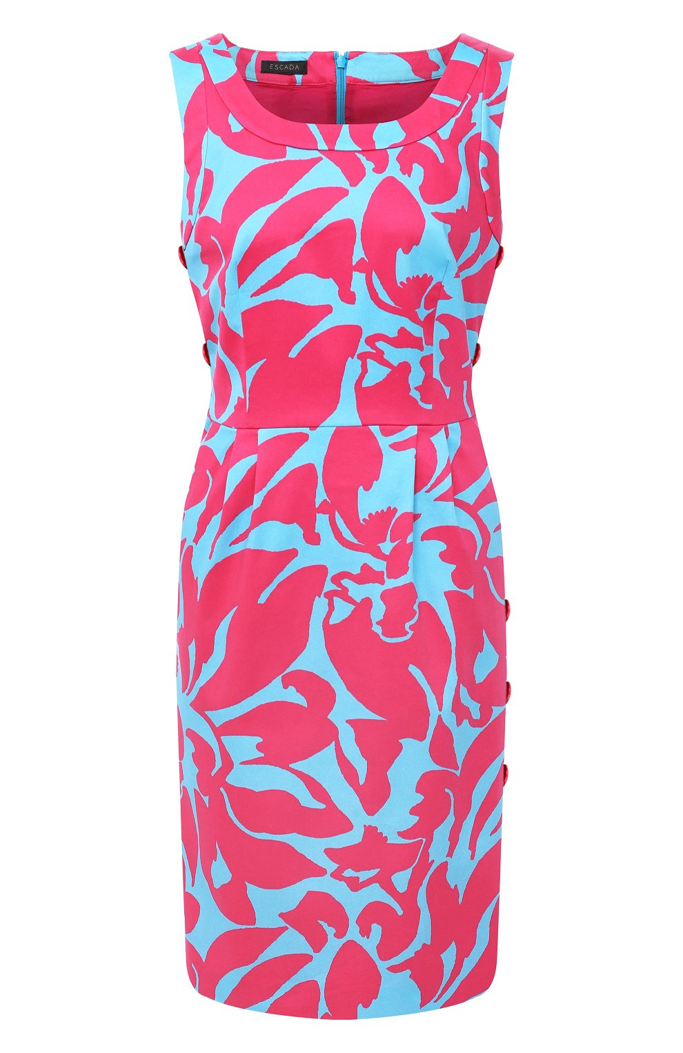 Женское хлопковое платье ESCADA разноцветного цвета, арт. 5033917   Фото 1