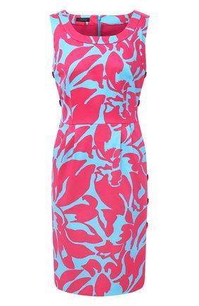 Женское хлопковое платье ESCADA разноцветного цвета, арт. 5033917 | Фото 1
