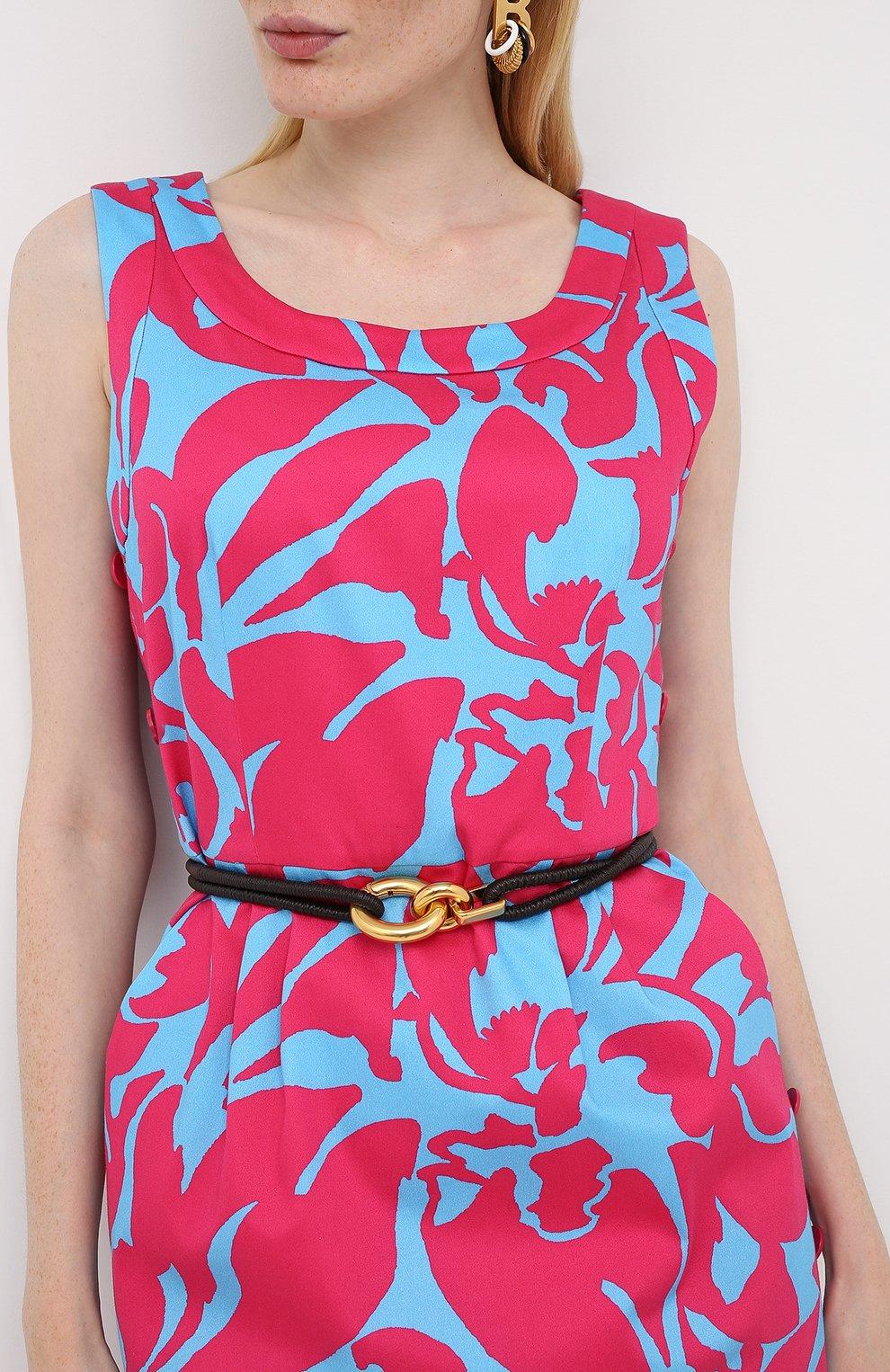 Женское хлопковое платье ESCADA разноцветного цвета, арт. 5033917   Фото 3
