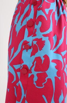 Женское хлопковое платье ESCADA разноцветного цвета, арт. 5033917   Фото 5