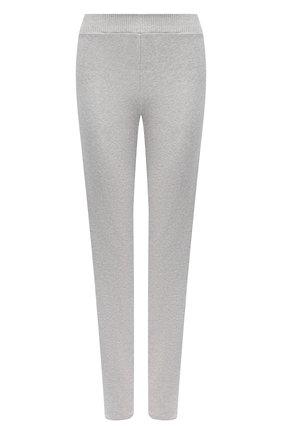 Женские хлопковые брюки ESCADA SPORT серого цвета, арт. 5033688 | Фото 1