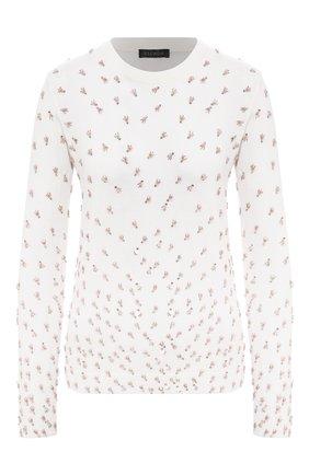 Женская шерстяной пуловер ESCADA белого цвета, арт. 5033560 | Фото 1