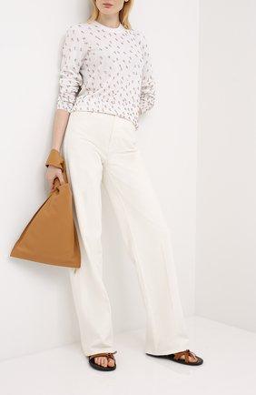 Женская шерстяной пуловер ESCADA белого цвета, арт. 5033560 | Фото 2