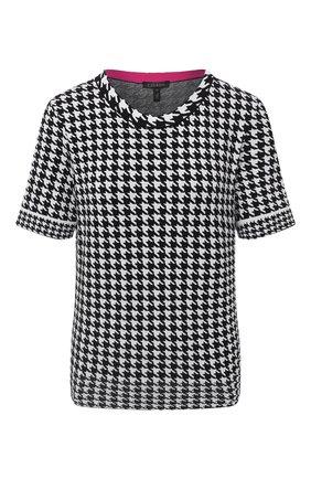 Женская пуловер из вискозы ESCADA черно-белого цвета, арт. 5033550 | Фото 1