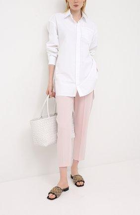 Женские брюки ESCADA розового цвета, арт. 5033544 | Фото 2