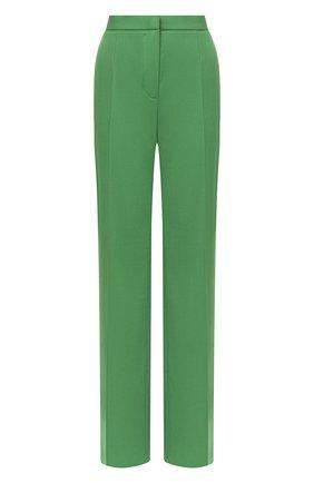 Женские шерстяные брюки ESCADA зеленого цвета, арт. 5033539 | Фото 1